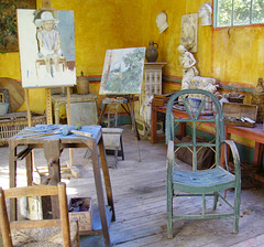ATELIER DE MONET ! MONET'S WORKSHOP