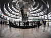 Inside the Cupola / In der Kuppel des Reichstags