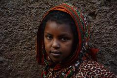 Portrait of an Ethiopian Girl