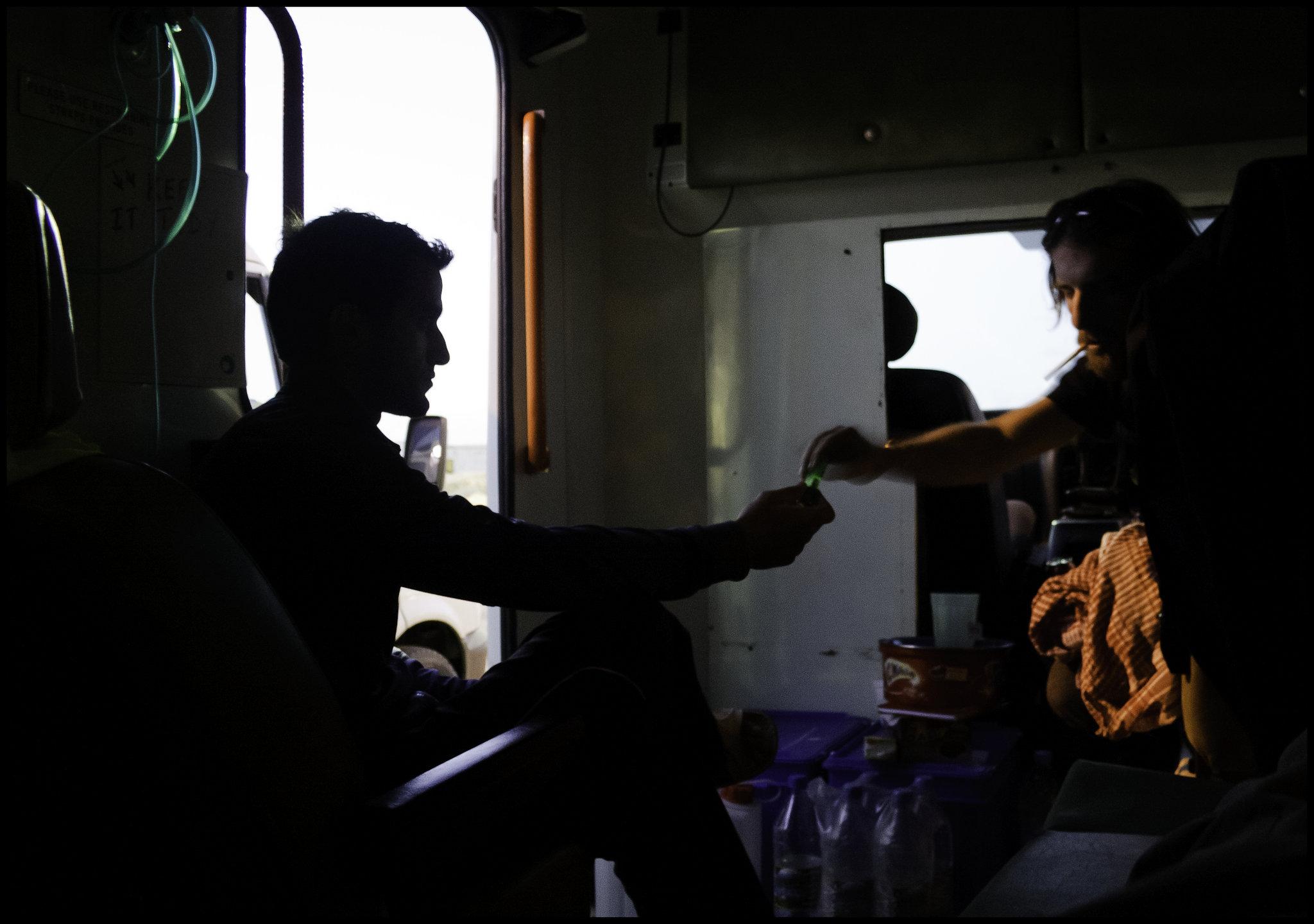 Ambulance hangout