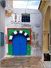 """Hammamet : una tipica porta nella Médina -  SPC 3/2020 - """"Porte"""" - voti 6 - 4°cl."""