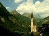 Swiss tour: Church at Heiligenblut