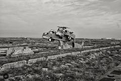 Memorial at Kondoz Airfield