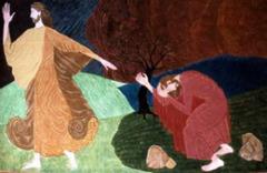 Vi estas la Kristo…la Filo de la Homo devas multe suferi