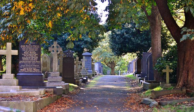 Preston Cemetery, North Shields