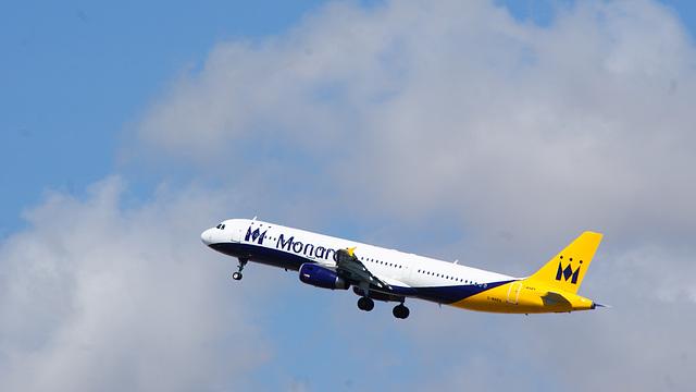 Airbus A321-231,MONARCH