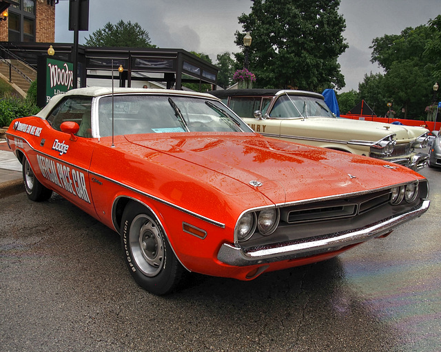 1971 Challenger Pace Car Convertible