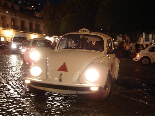 Taxis VW à la mexicana!