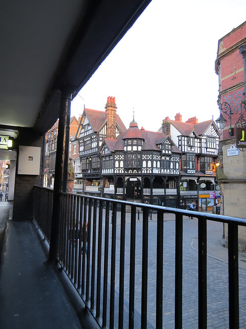watergate street rows, chester