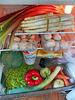 Aktueller Kühlschrankinhalt mit Produkten ausschließlich von der Hamburger Tafel :)