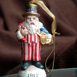 Uncle Sam Christmas Ornament
