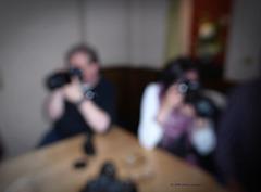 Fotografen (ohne Brille gesehen)