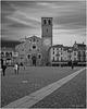 Lodi Cathedral &  Piazza Della Vittoria Mono