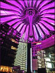Berlin (D) 12 septembre 2010. Le Sony Center.