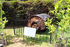 One of the only remaining prototypes of the Barnes Wallis famous bouncing bomb ~ The Petwood Hotel gardens