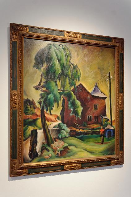 """""""Vieilles maisons à Schifflange"""" (Harry Rabinger - 1925)"""