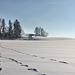 Winterlandschaft in Oberschwaben - etwas unscharf