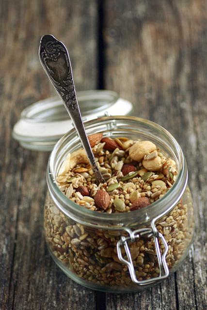 Tatramüsli / Buckwheat granola