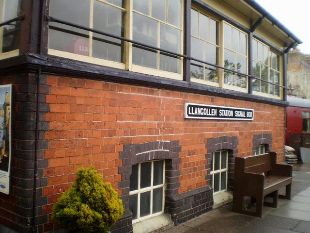 Llangollen Station Signal Box.