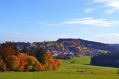 Hagberg im Herbst