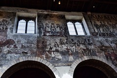 Wall painting from the 15th Century