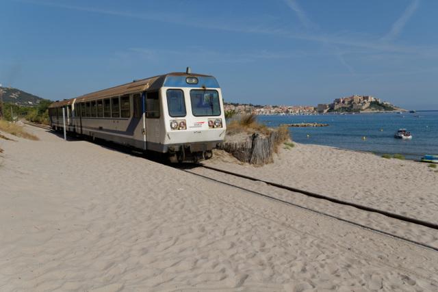 train Calvi - l'Ile rousse