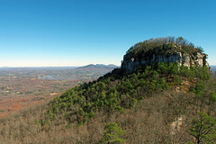 Big Pinnacle of Pilot Mountain