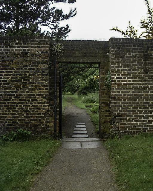 Walled Garden entrance gate