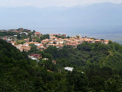 View over Sighnaghi.