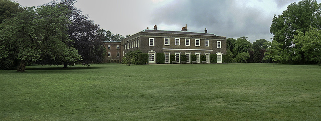 In the grounds of Fulham Palace