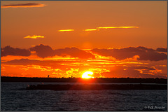 Sonnenuntergang in Saintes-Maries-de-la-Mer
