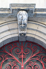 Rue des Trois-Maries, Vieux-Lyon (Lyon, France)