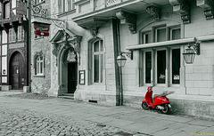 Roter Flitzer