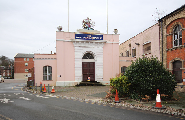 Royal Worcester Factory, Worcester