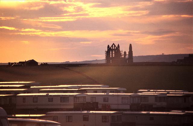 Whitby Abbey Yorkshire Anno 1997 (für Gudrun)
