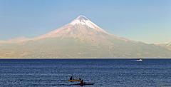 Der Osorno in seiner ganzen Schönheit