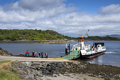 Tarbert to Portavadie Ferry