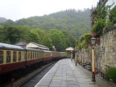 Train arrival.