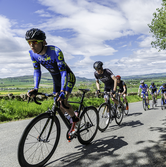 British Cycling Junior Road Race in the Kingdom of Fife