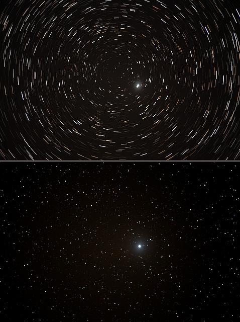 Region around Polarstar