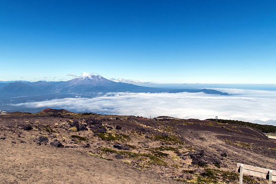 HFF - Blick vom Vulkan Osorno zum Vulkan Calbuco (PiP)