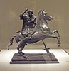 Bronze Statuette of Alexander on Bucephalus in the Metropolitan Museum of Art, June 2016