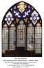 Otford, St Bartholomew, East window 1845 with 17th c panels