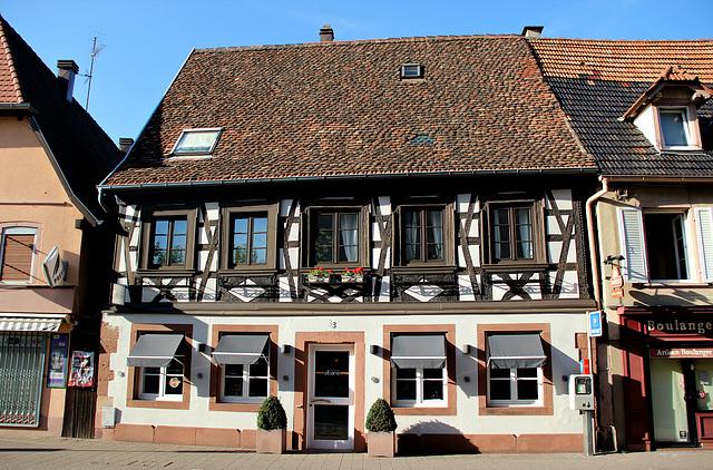 Fachwerkhaus in Wissembourg