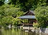 Das Zeremonienhaus im Japanischen Garten, B-Hasselt (3 x PiP)