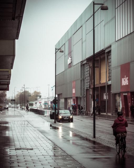 Rainy and slow