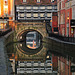 "High Bridge and ""The Glory Hole"" ~ Lincoln  ( c1160 )"