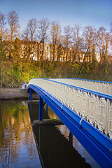 Footbridge over the River Kelvin, Glasgow