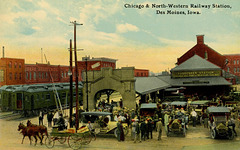 Chicago and North-Western Railway Station, Des Moines, Iowa