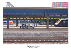 Between trains Reading 27 7 2018